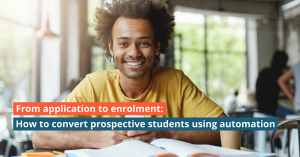 From application to enrolment